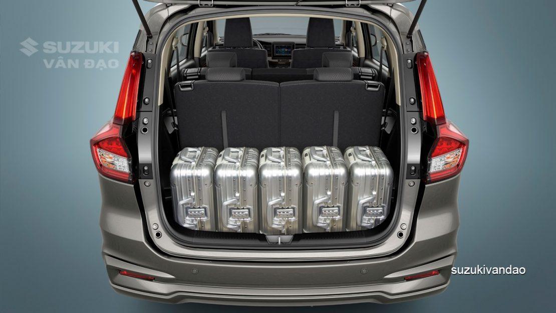 Khoang hành lý Suzuki Ertiga 2020