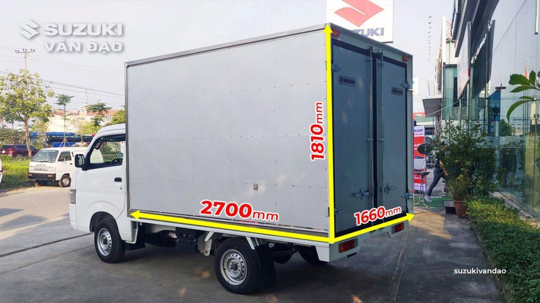 Suzuki 7 tạ - 9 tạ thùng siêu dài